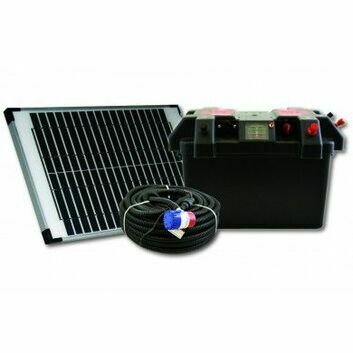 Hotline Water Pump, Battery & 30W Solar Panel Kit
