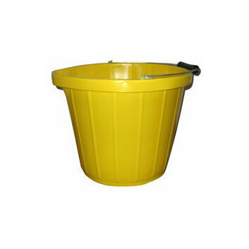 Heavy Duty Yellow Bucket - 3 Gallons
