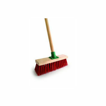 Bentley Red PVC Yard Broom - 11