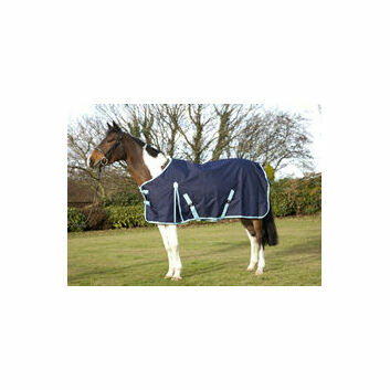 ProTack Heavyweight 1200D Standard Turnout Rug - Navy