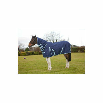 ProTack Heavyweight Combo 1200D Turnout Rug - Navy