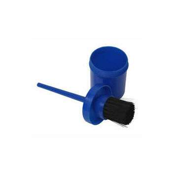 Bitz Hoof Oil Brush With Container - Various Colours