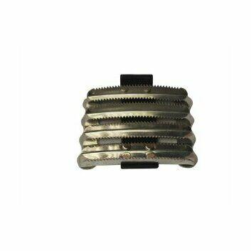 Bitz Metal Curry Comb Military PVC Strap