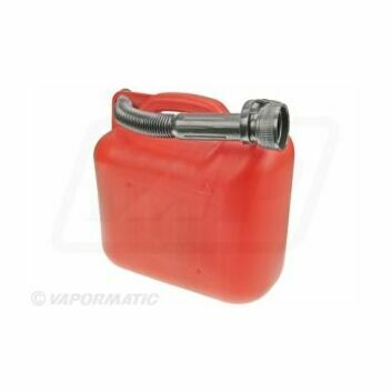 Red Plastic Fuel Container - 5 Litres
