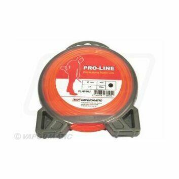 Standard round strimmer Line 2.4mm Orange