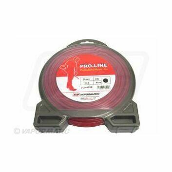 Standard round strimmer Line 3.3mm Red