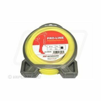 Std square strimmer Line 3.0mm Yellow
