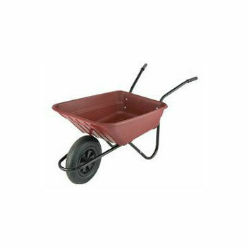 Shire Wheelbarrow 90L Burgundy