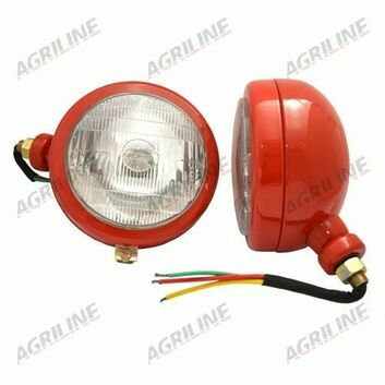 Headlight - Side Mounting (Pair) Red
