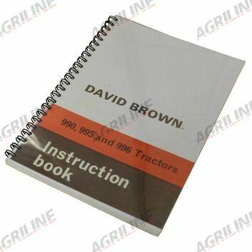 Operators Manual - David Brown 990/995/996 Pre Q Cab