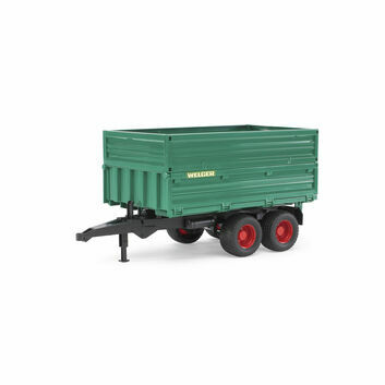 Bruder Tipping Tandem Axle Trailer 1:16