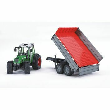 Bruder Fendt 209 S Tractor with tipping trailer 1:16