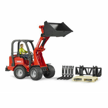 Bruder Schaffer 2034 Loader with figure and accessories 1:16