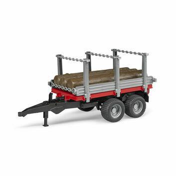 Bruder Log Transporter Timber Trailer 1:16