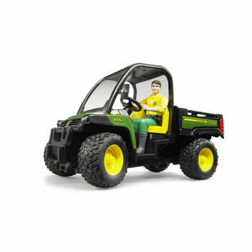 Bruder John Deere Gator 855D with Driver 1:16