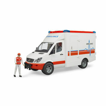 Bruder MB Sprinter Ambulance with Driver 1:16
