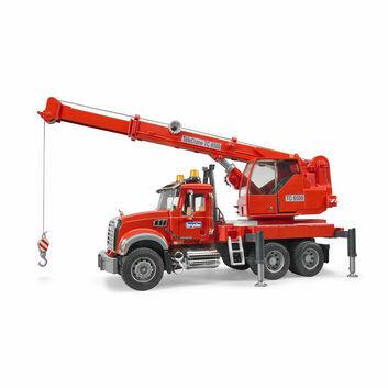 Bruder Mack Granite Crane Truck 1:16