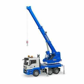 Bruder MAN TGS crane truck with light & sound module 1:16