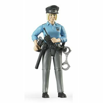 Bruder White Policewoman with Accessories 1:16