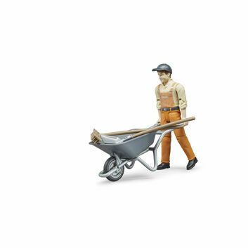 Bruder Figure Set Municipal Worker 1:16