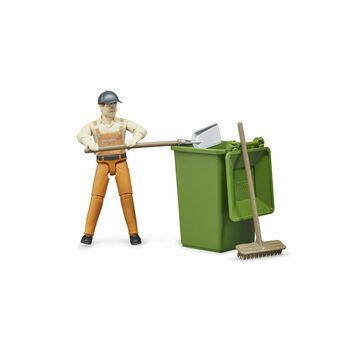 Bruder Waste Disposal Figure Set 1:16