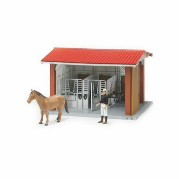 Bruder Horse Stable with Figure, and Accessories 1:16
