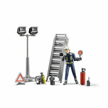 Bruder Fire Brigade Figure Set 1:16