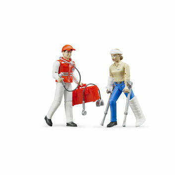 Bruder Emergency Services Figure And Accessories Set 1:16