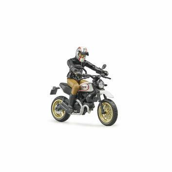 Bruder Scrambler Ducati Desert Sled and Driver 1:16