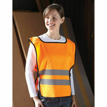 Yoko Hi Vis Adult Tabard - Orange