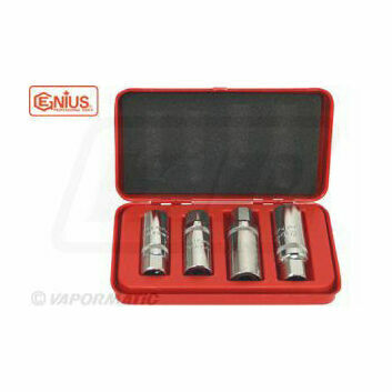 Genius Tools Stud Puller Socket Set Metric