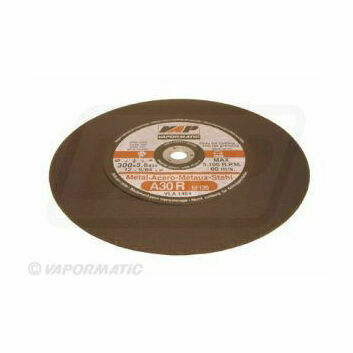 25 x 300mm Flat Metal Cutting Disc Flat