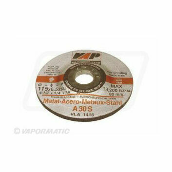 10 x 115mm Metal Grinding Disc