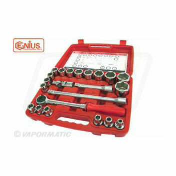 Genius Tools 22 Piece 1/2