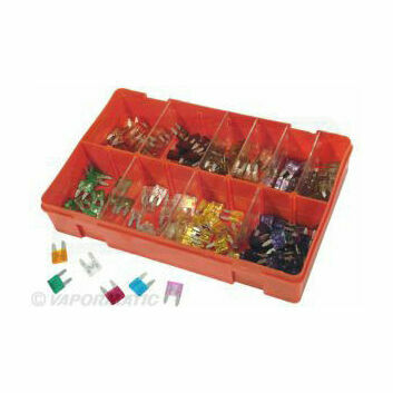 Mini Blade Fuse Selection Pack (240 Boxed)