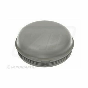 Ifor Williams Hub Cap - 76mm (Grey/Plastic)