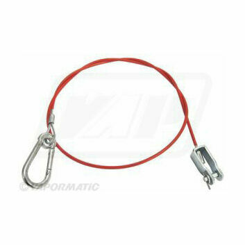 Breakaway Cable With Clevis Type Attachment