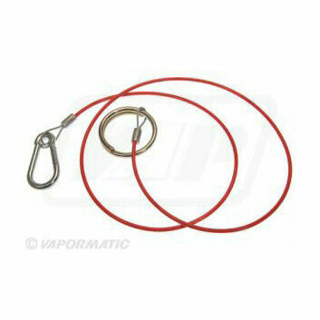Breakaway Cable with Spring Ring Attachment