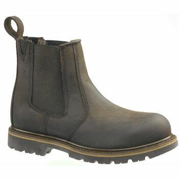 Buckler Buckflex B1150SM SB Chocolate Brown Safety Dealer Boots