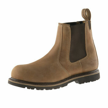 Buckler Buckflex B1151SM SB Tan Safety Dealer Boots
