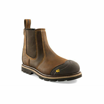 Buckler B1990SM S1 Brown Safety Dealer Boots