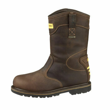 Buckler B701SMWP K2 SB Brown Safety Rigger Boots