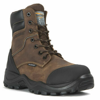 Buckler BSH008WPNM Buckshot S3 Dark Brown Lace/Zip Safety Boots