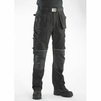 Buckler BX001 Buckskinz Work Trousers Black - Regular