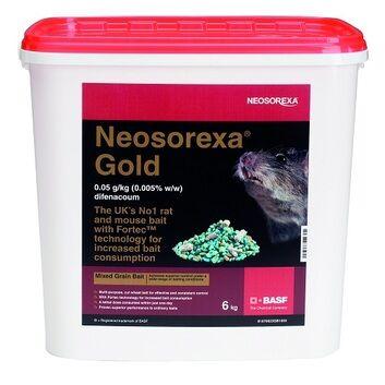Neosorexa Gold Rat & Mice Bait 6 KG