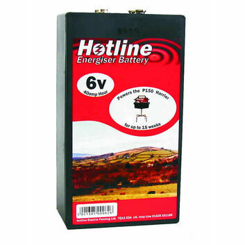 P44 Hotline 6V 40ah Air Alkaline Battery (For P150 Harrier Energiser)