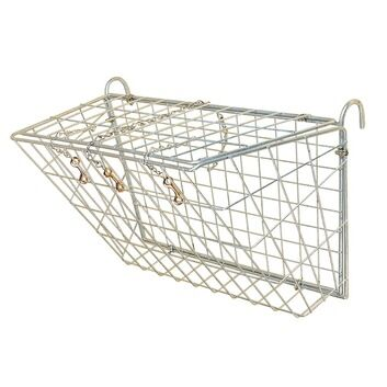 Stubbs Haysaver Wall Rack with Back and Hinged Top