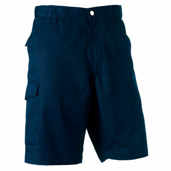 Russell Polycotton Twill Shorts - French Navy