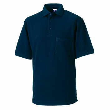 Russell Men's Heavy Duty Polo Shirt - French Navy