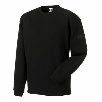 Russell Crew Neck Set In Sweatshirt - Black